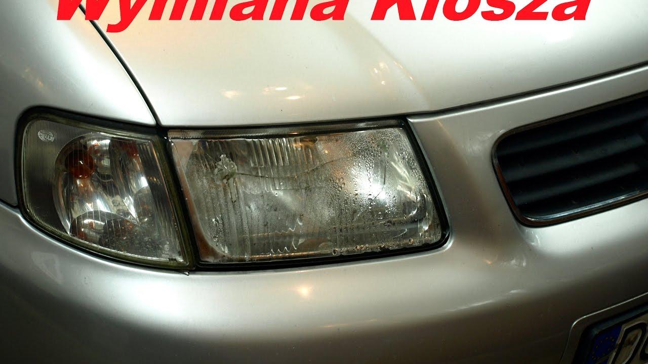 Sg Wymiana Klosza Audi A3 8l Naprawa Lampy Jak Wyjąć