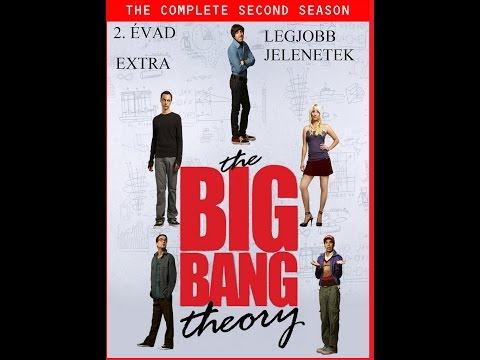 The Big Bang Theoy Agymenők 2. évad legjobb jelenetei EXTRA videó letöltése