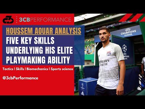 [OC] Houssem Aouar analysis: Five key skills underlying his elite playmaking ability