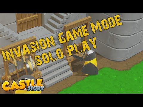 First Look At Castle Story: Invasion Mode SOLO Play!