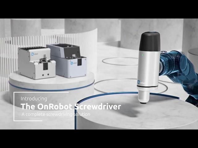 L' avvitatore collaborativo OnRobot è arrivato!