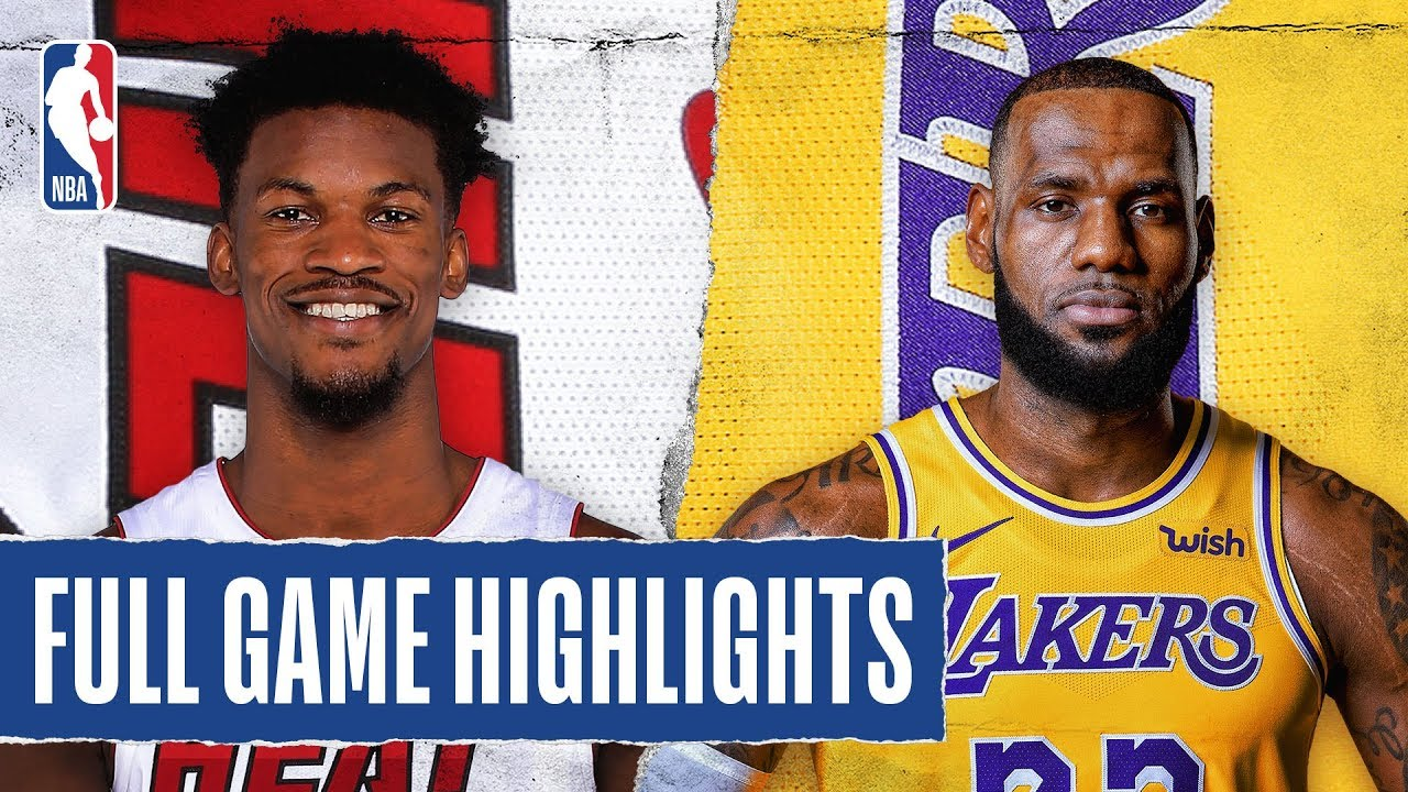 Lakers vs. Heat Final Score: LeBron James, Anthony Davis lift L.A. ...