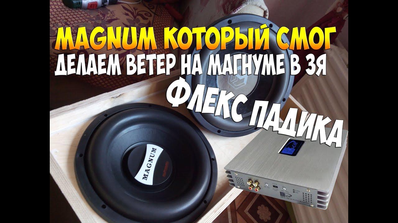Alphard Magnum M12d2+Machete M800D в 1 Ом - YouTube