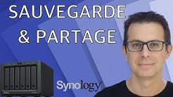 NAS Synology - Sauvegarder et partager ses fichiers facilement