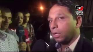 سمير زاهر ومحمد فاروق في عزاء طارق سليم بـ«عمر مكرم»