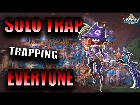 I'M HAVING FUN ON SOLO TRAP - LORDS MOBILE