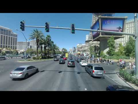 Las Vegas Deuce Bus - From Mandalay Bay/Tropicana To Downtown/Fremont Street.