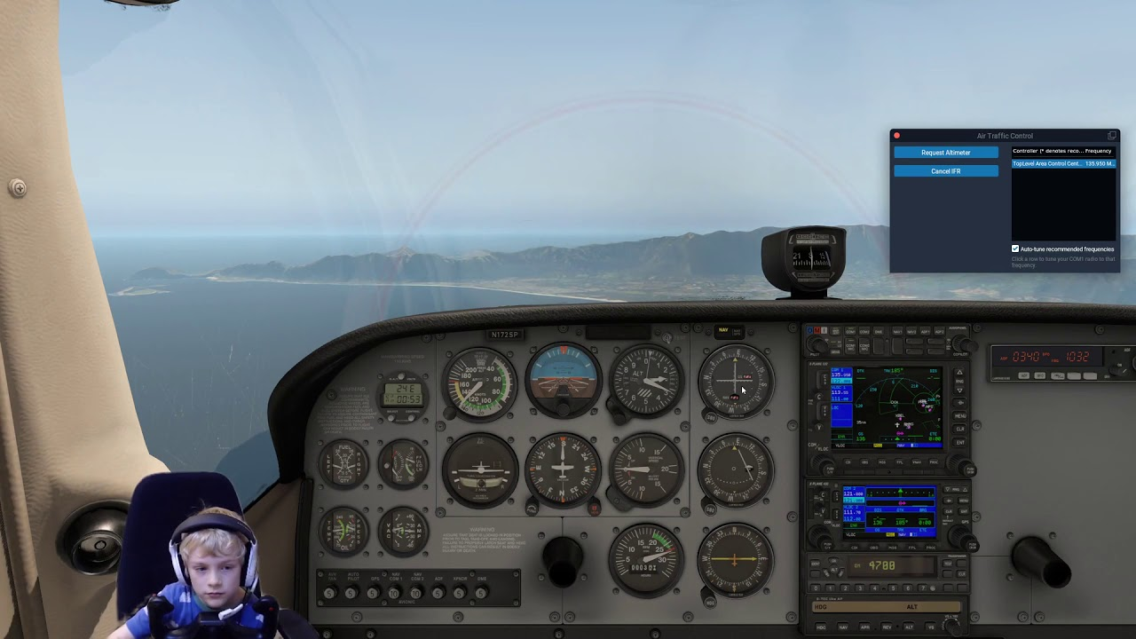 Download Cessna 172 PHNG to PHNL with ATC