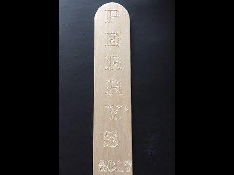 Cricut Maker Engraving Balsa Wood Youtube