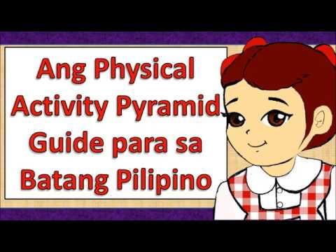 Ang Physical Activity Pyramid Guide Para Sa Batang Pilipino