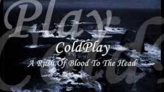 coldplay a rush of blood to the head