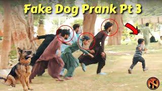 Fake Dog Bark Prank Pt 3 - Funny Reactions - New Talent 2021