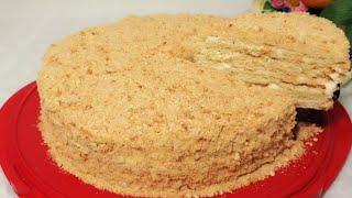 Uyda Bor Masalliqlardan Og izda Eriydigan Tort Tayyorlaymiz Торт Тающий Во Рту CAKE Recipe