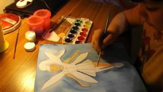 Рисование феи урок 2