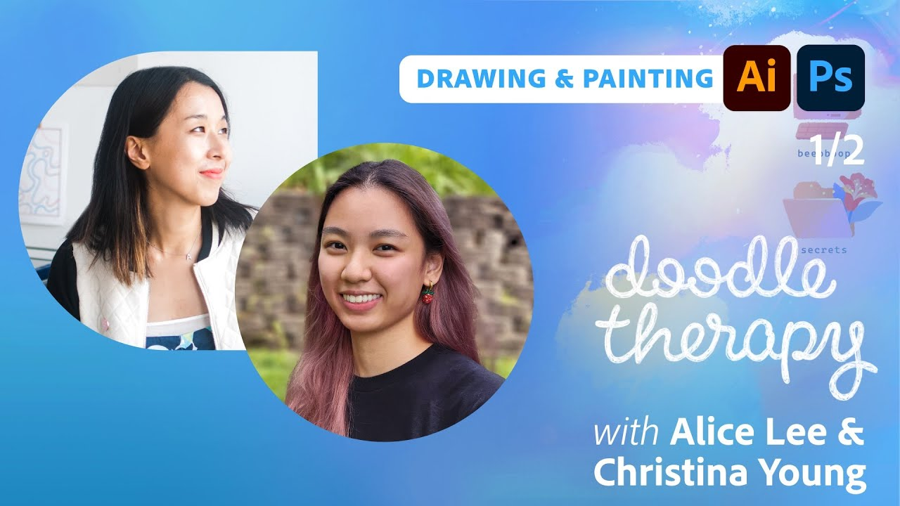 Doodle Therapy: Friendly Isometric Scenes with Christina Young and Alice Lee - 1 of 2