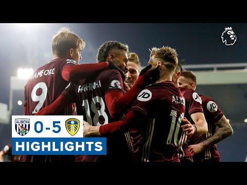 West Brom 0-5 Leeds United | 25-yard own goal, Raphinha screamer | Premier League highlights
