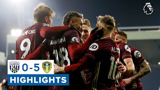 West Brom 0-5 Leeds United | 25-yard own goal, Raphinha screamer | Premier League highlights
