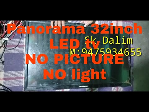 Panorama 32inch LED Tv#no Picture/no Light