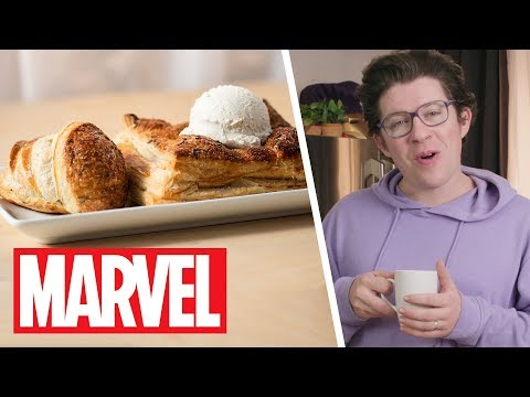 She-Hulk's Lavender Vol-Au-Vent | Marvel's Eat The Universe