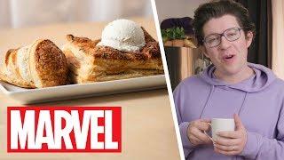 She-Hulk's Lavender Vol-Au-Vent | Marvel's Eat The Universe