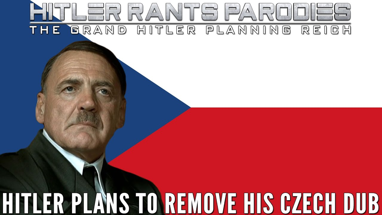 Hitler plans to remove his Czech dub
