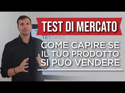 Come capire se il tuo prodotto si può vendere | Test di Mercato