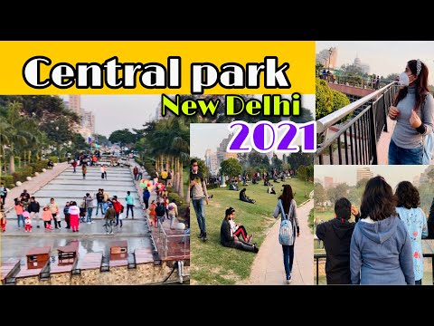 Central Park in New Delhi || Connaught Place (CP )