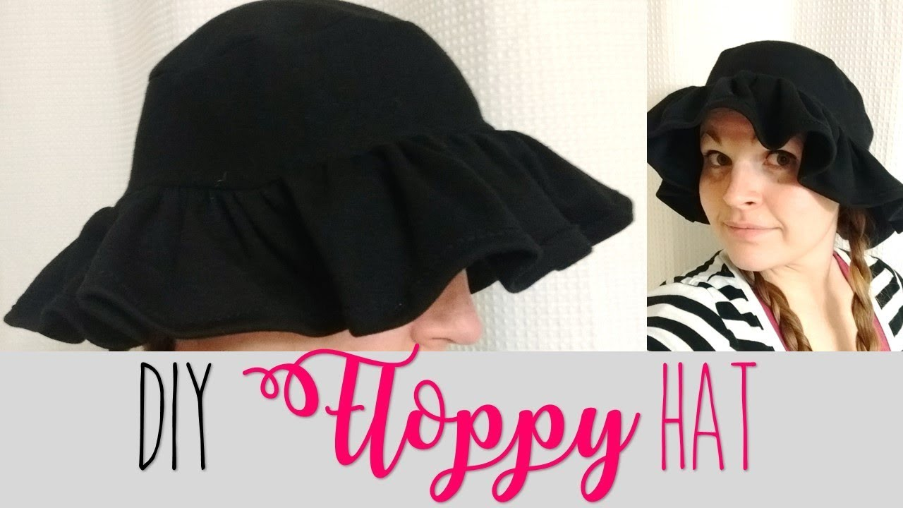 DIY Floppy Hat (EASY) - YouTube 63662d27d76