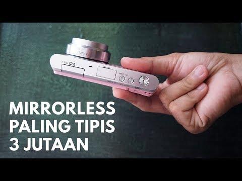MIRRORLESS PALING TIPIS BUAT VLOG, 3Jutaan Review Samsung NX Mini