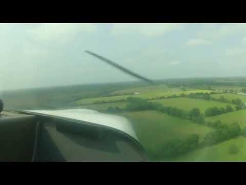 Landing at Clonbullogue Airfield, Ireland
