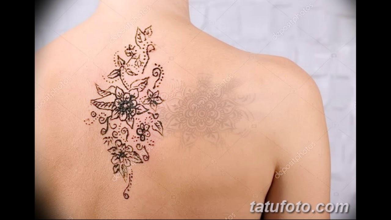 Bellissimo татуировка лотос на спине
