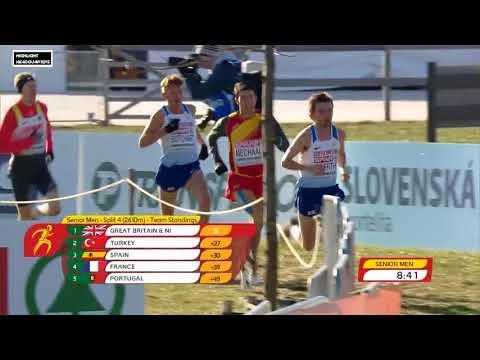 Senior Men @ European Cross Country Championships 2017  (HD)