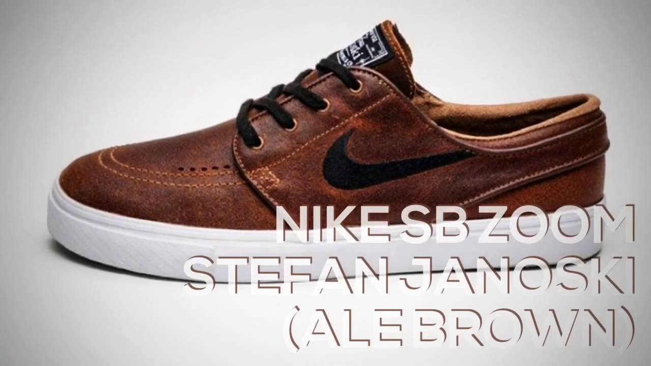879dfe256f4 NIKE SB ZOOM STEFAN JANOSKI (ALE BROWN)   PEACE X9 - YouTube