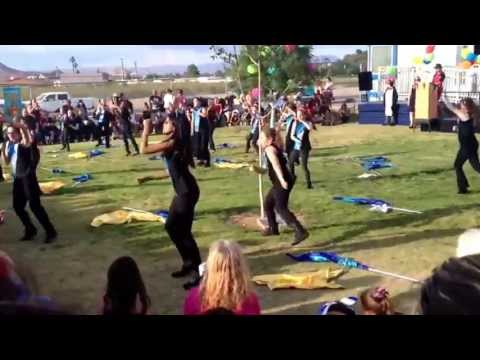 Color Guard C.T. Sewell Elementary School Part 2