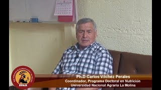 Ph.D Carlos Vilchez Perales. Docente UNALM - #RPANLOVERS