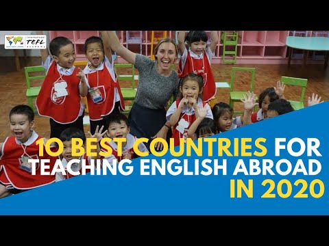 10 Best Countries For Teaching English Abroad in 2020 - Webcast