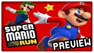 SUPER MARIO RUN [iOS] Gameplay Preview