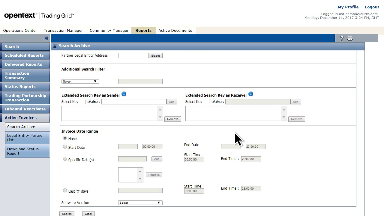 OpenText Active Invoices With Compliance Short Demo YouTube - Opentext vendor invoice management