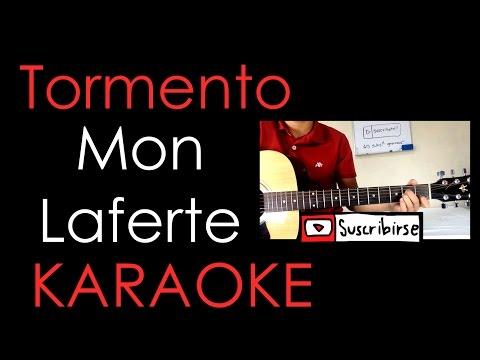 Tormento- Mon Laferte (Karaoke acústico) -Cover-