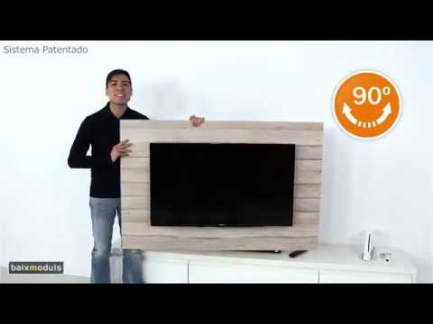 Baixmoduls presenta los paneles giratorios para televisión de su ...