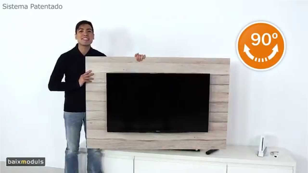 Mueble television giratorio mod 115 youtube for Mueble television giratorio 08