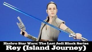 Star Wars Black Series Rey Island Journey Hasbro Action Figure Review
