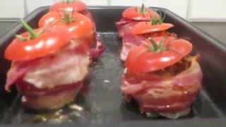 Фаршированные помидоры с сыром Фета