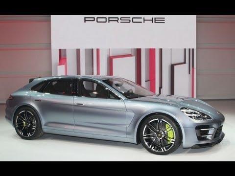 New Porsche Panamera Sport Turismo Concept Revealed- 2012 Paris Motor show