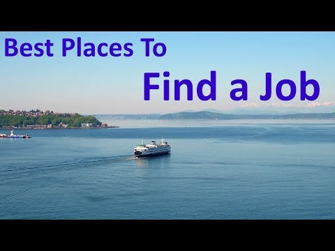 The 10 Best Places To Find A Job In The USA