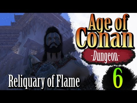 Age of Conan Unchained Gameplay – Reliquary of Flame HM (Bearshaman)
