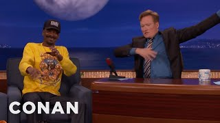 Snoop Dogg & Conan Compare UFC Fighting Styles  - CONAN on TBS