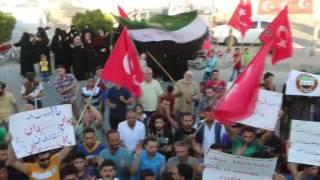 سوريون يتظاهرون في تركيا وسوريا رفضاً لمحاولة الانقلاب الفاشلة
