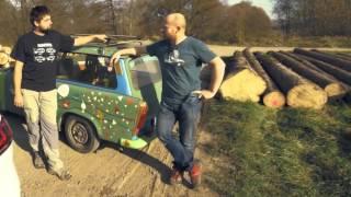 Emission test Trabant vs Volkswagen GTD - by Garaz.tv