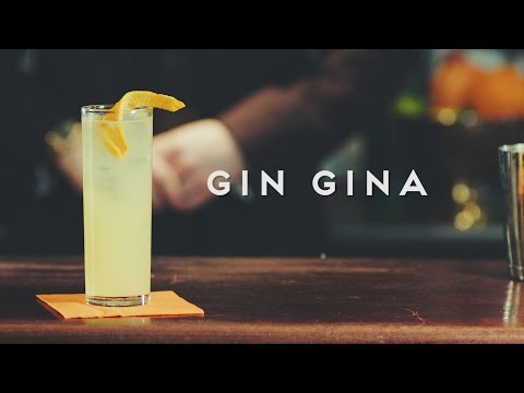 Gin Gina - Orangina cocktail recipe